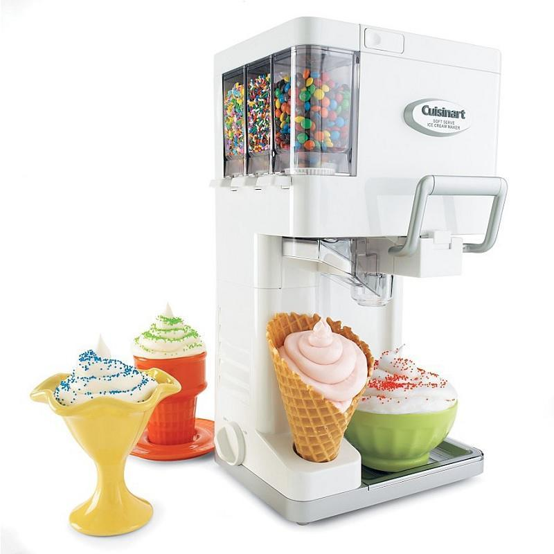 Cuisinart ICE-45 Mix It In Soft Serve 1-1/2-Quart Ice Cream Maker